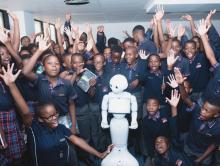 Pepper the first Humanoid Robot