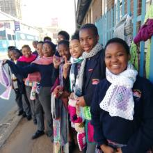 Sharing warmth on Nelson Mandela Day