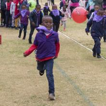 Fun at the Novelty Sports Day