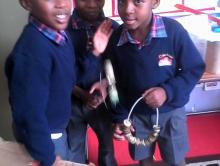Making our own musical instruments